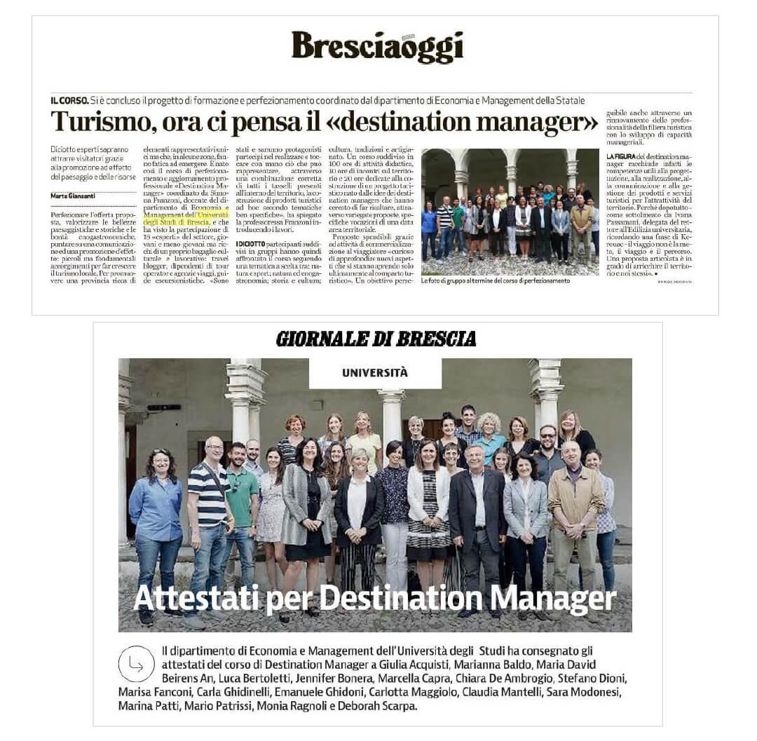 studenti durante la formazione a Brescia